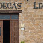 Entrada a Bodegas Lecea