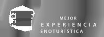 Logotipo mejor experiencia enoturística