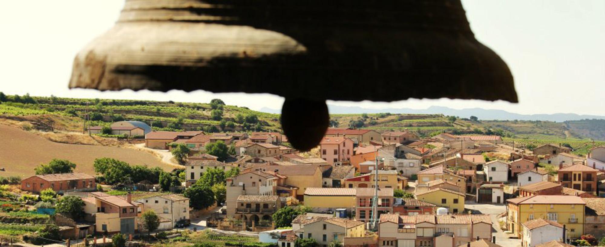 Vistas de San Asensio desde el campanario de la iglesia
