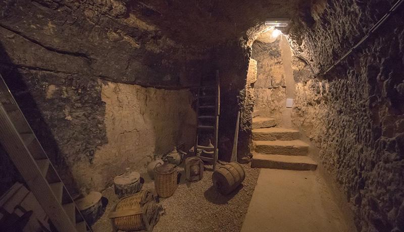 Imagen de los calados subterráneos