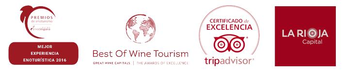 Logotipos de premios de Enoturismo
